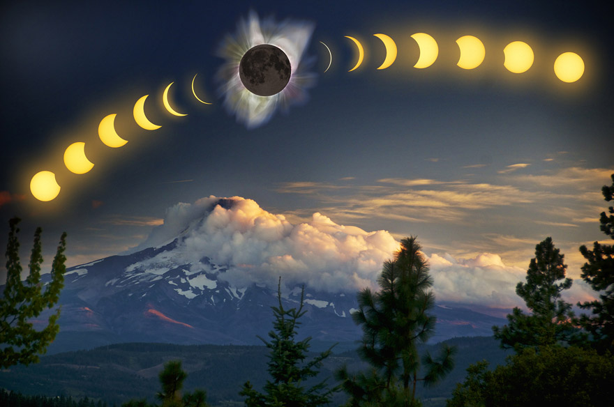 Eclipse time-series composite.